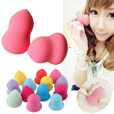 New Womens Makeup Foundation Sponge Mixer Puff Flawless Smooth Face Beauty