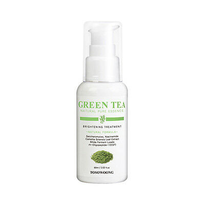 [TOSOWOONG] Green Tea Natural Pure Essence - 60ml ROSEAU
