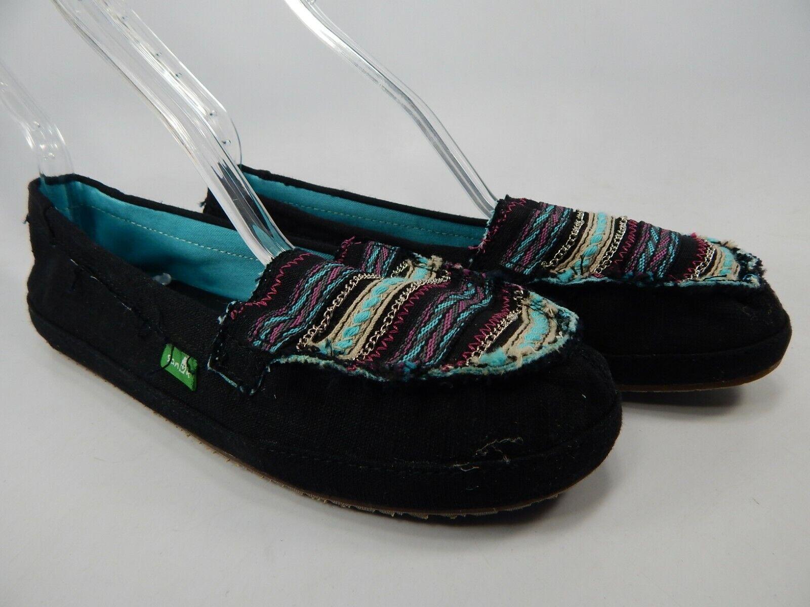 Sanuk Zu Zu Trougetoir Surfeurs Taille 7 M (B) Ue 38 femmes chaussures à Enfiler