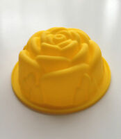 Large Rose Chocolate Silicone Mold Cupcake Design Baking Candy Cake Flower