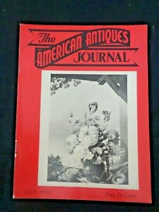 1948-AMERICAN-ANTIQUES-JOURNAL-George-Baxter-Prints-Liberty-Cap-Buttons-Faience