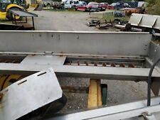 Swenson Stainless Steel 8ft Under Tailgate Salt Spreader With Spinner 9