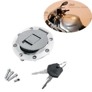 Fuel Gas Cap With Cover /& Key For Yamaha YZF R1 R6 600 750 XJR 1200 TDM850 New