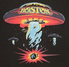 L * vtg 80s 1987 BOSTON concert tour t shirt * band * 88.35