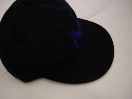 XCOSER pokmon aller factions Cosplay Noir Avec Logo Bleu Réglable Casquette De Baseball