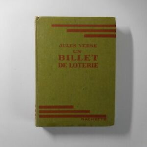 Jules Verne 1947 Un billet de loterie littérature roman Hachette France N7180