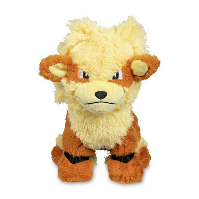 2019 New New New Pokemon Center Original Cuddly Arcanine Plush - 9 In. 34cda3