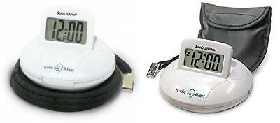 Sonic Alert SBP100 Portable Loud vibrant réveil blanc | eBay