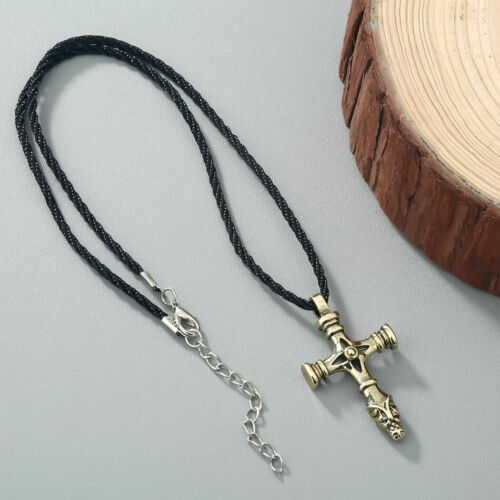 Church Jesus Christ Jewelry Women Vikings Cross Pendant Necklace Men Olafs Jewel