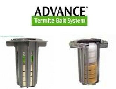 10 Advance Termite Monitor Bait Stations Pest Control Ebay