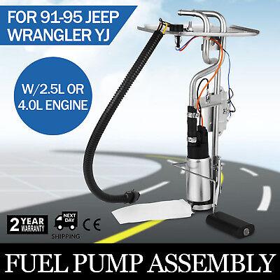 1991-1995 Jeep Wrangler YJ 15//20 gal gas tank sending unit w// F.I w// pump