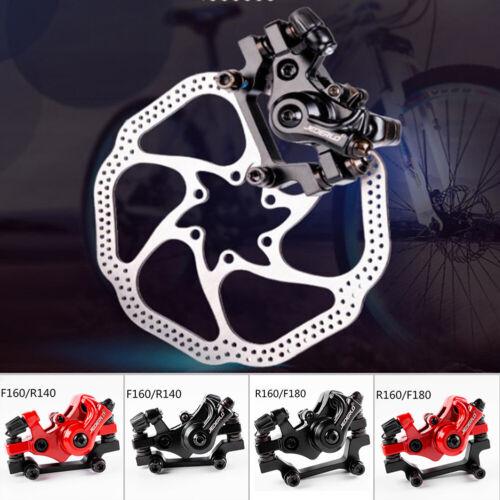 Mechanical Mountain Bike Disc Brake Front//Rear Disc Braking System Calipers Kit