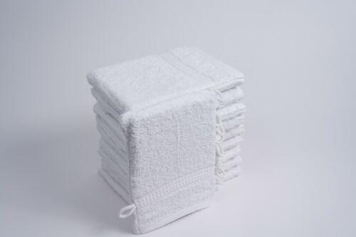 ★NEU★ Waschhandschuhe Waschlappen Waschtuch Frottierhandschuh im 10er Set ★NEU★