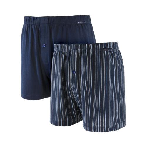 Herren Boxershorts XXL Unterwäsche Unterhosen 2er Pack Baumwolle Übergröße 8-18