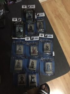 Figurines Nano en Métal Harry Potter Hp14 Jada Neuf 12 Au Total.   801310844113