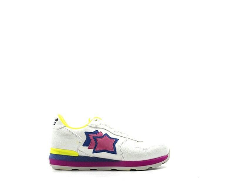zapatos ATLANTIC STARS mujer zapatillas zapatillas zapatillas Trendy  BIANCO Scamosciato,Tessuto VEGABGF6  tienda en linea