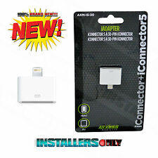 AXM-I5-30 Lightning Plug to Apple Dock Adapter for iPhone (For Charging Only)