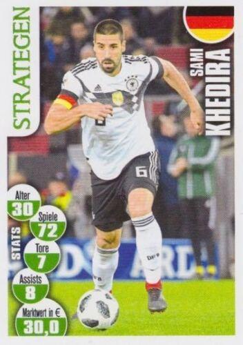 Bravo Sport Superstar WM Cards Russia 2018 Sami Khedira Bild NEU Germany