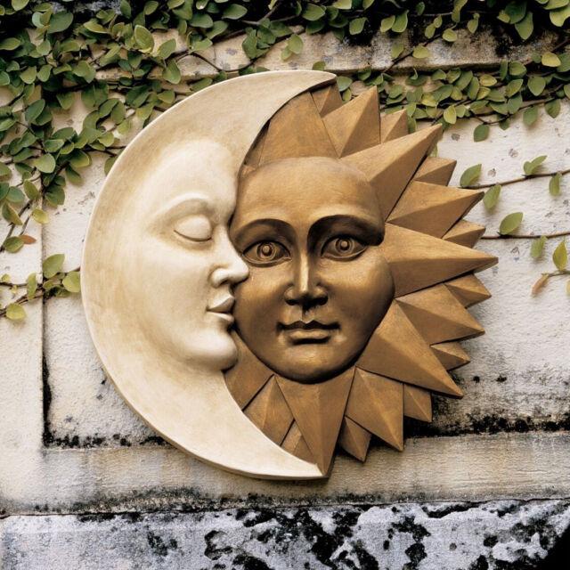 Sun Moon Faces Wall Decor Hanging Art