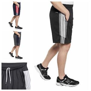 adidas Men's Active Shorts with Zipper Pockets gym shorts workout shorts