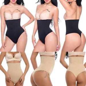 e3666883f6aae Fashion High Waist Body Shaper G-String Tummy Control Underwear ...