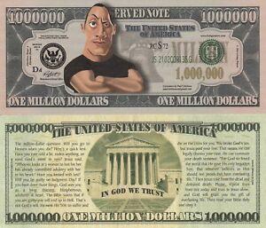 Halloween Million Dollar Bill Funny Money Gospel Tract Novelty Note FREE SLEEVE