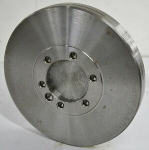 """10-1//2"""" Lathe Chuck Adapter Plate D1-3 Spindle Mount Taper Plain Back USA"""