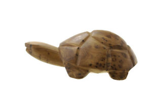 Statua-Di-Tartaruga-Turtle-Legno-Da-Thuya-Marocco-Peterandclo