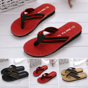 0881ecd143d 2019 Men s Casual Massage Anti-slip Sandals Flip Flops Slippers Flat ...