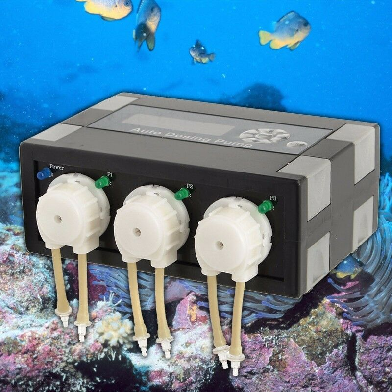 Jebao Automatic DP-3 Dosing Pump Doser For Reef Aquarium Marine Tank