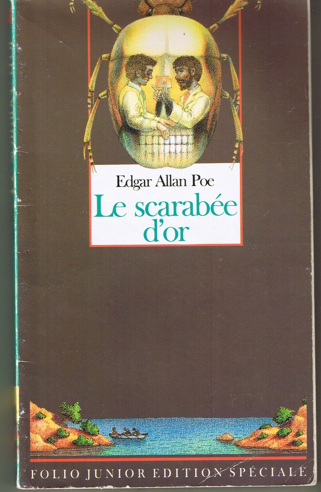Couverture de Le scarabée d'or