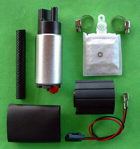 New-Fuel-Pump-Electric-255lph-High-Performance-Plus-Install-Kit-4
