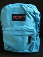 Jansport Superbreak Backpack Girls Book Bag School Pack Padded Blue
