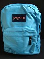 Jansport Superbreak Backpack Girls Book Bag School Pack Padded Blue