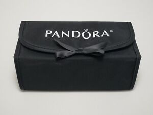 Pandora Jewelry Charm Storage And Travel Case Black Ebay