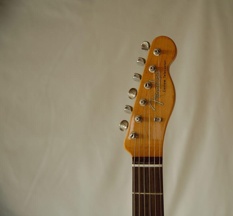 Elguitar, Fender (US) Fender Telecaster Custom