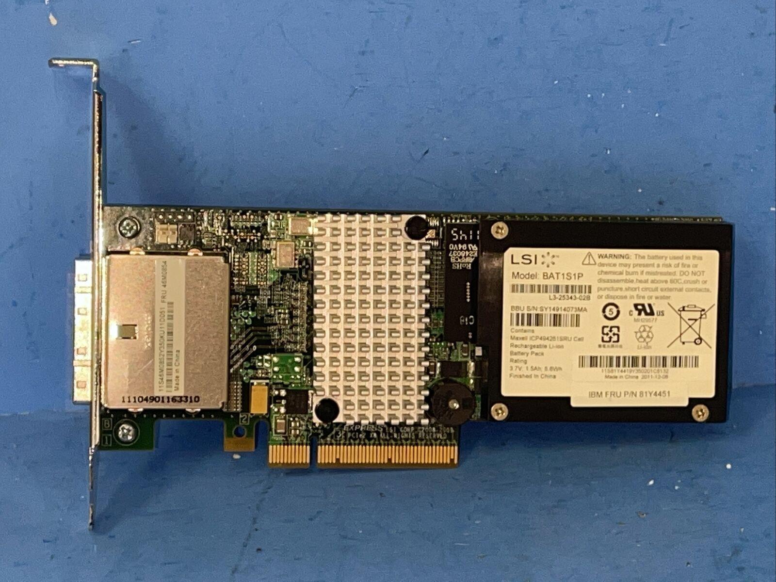 Fujitsu MegaRAID High-Profile SATA/SAS Controller L3-25152-50A