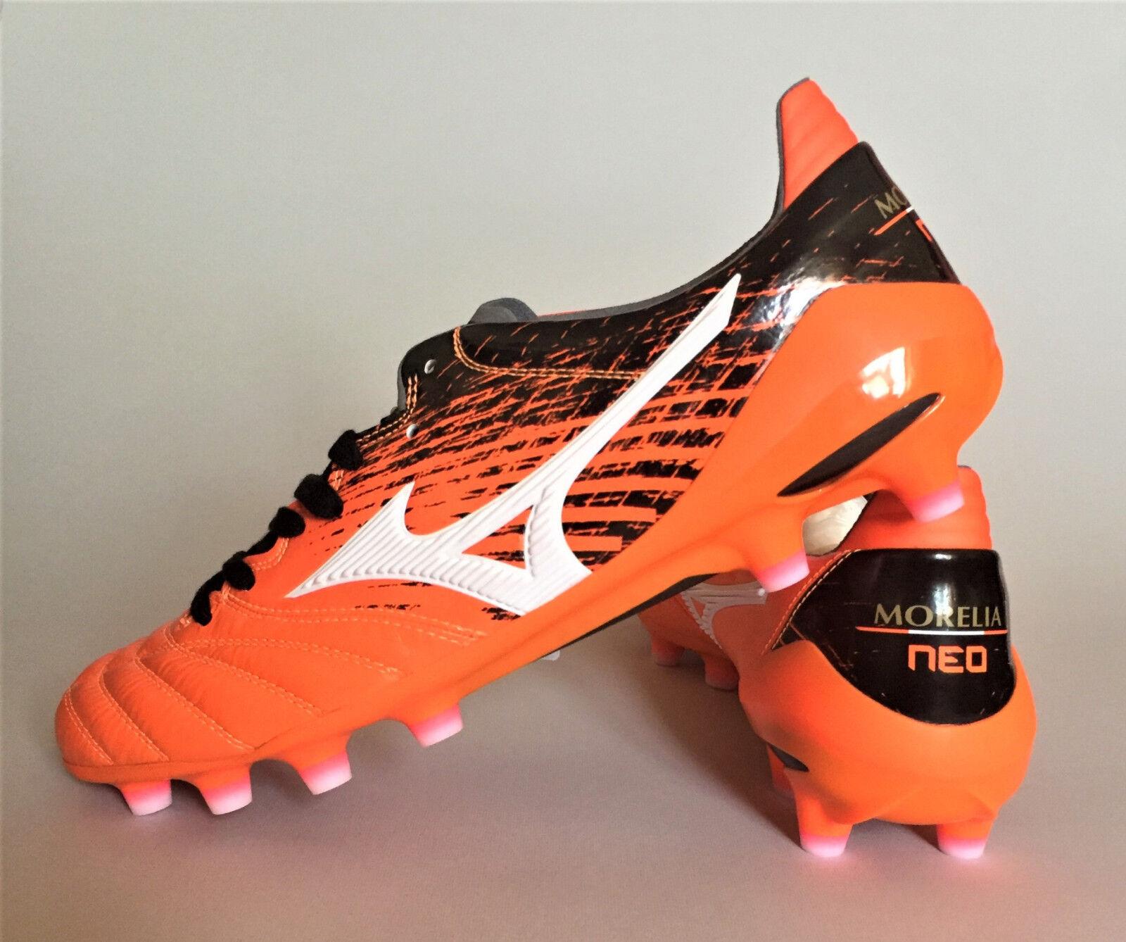 Mizuno Morelia Neo II P1GA175154 Japan Orange Soccer Cleats