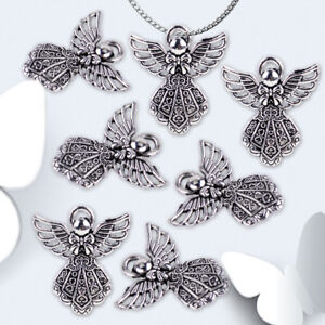 20pcs-Retro-Silver-Angel-Wings-Pendant-Charms-Beads-for-Jewelry-Crafts-Necklace