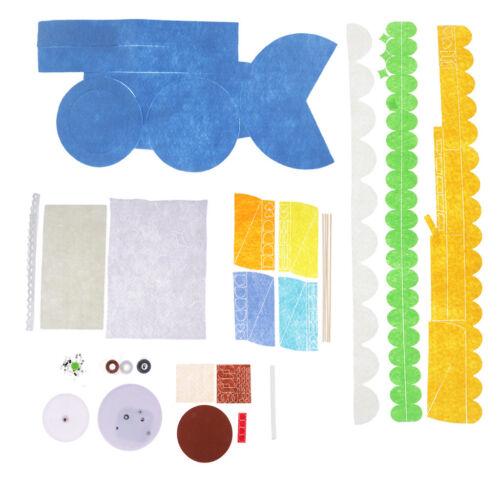 Carousel Music Box Sewing Kit Kids DIY Felt Craft Kit Needlework Supply Gift