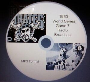 1960 World Series Game 7 radio broadcast in MP3 Format | eBay