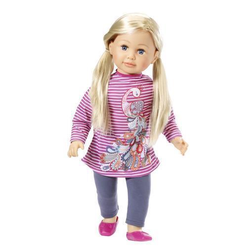 Zapf Creation 877630 Sally Puppe, 63 cm, neues Modell