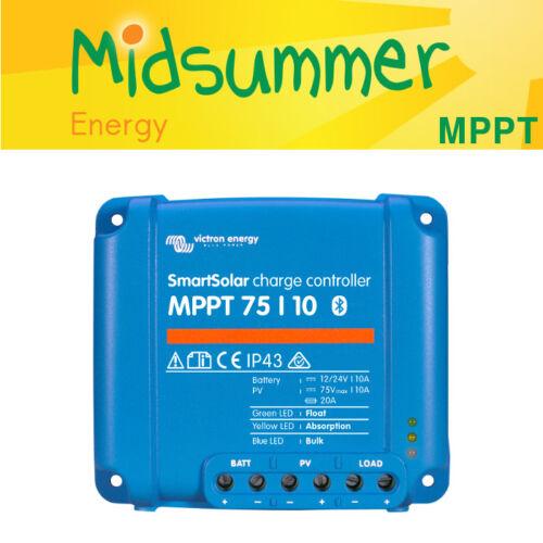 Victron smartsolar 75 V 10 A MPPT Solar PV Chargeur avec en construit Bluetooth 135 W