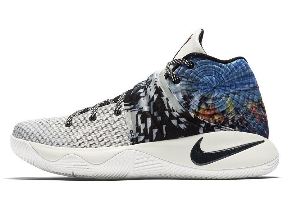 2015 Nike Kyrie 2 II Tie Dye Effect QS Size 12. 819583-901 jordan kobe bhm