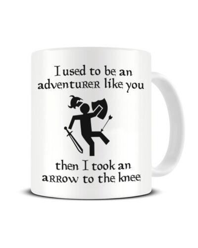 I Used To Be An Adventurer Like You Funky NE Ltd ® Video Game Tea Coffee Mug