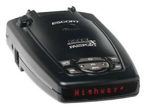Passport Radar Detector >> Escort Passport 9500ix Radar Detector Red Display