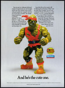 TOXIC-CRUSADERS-Orig-1991-Trade-print-AD-Toy-action-figure-TV-promo-Avenger