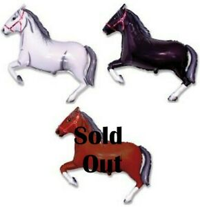 Melbourne-Cup-Spring-Racing-Party-Supplies-Giant-Horse-Foil-Balloon-106cm