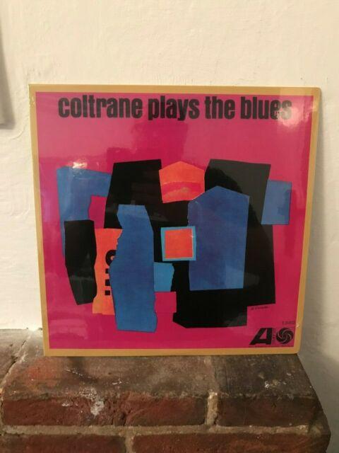 JOHN COLTRANE PLAYS THE BLUES LP ATLANTIC 1382 2017 BRAND NEW SEALED VINYL