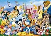 Educa Jigsaw Puzzle The Wonderful World Of Disney 1000 Pcs 11978